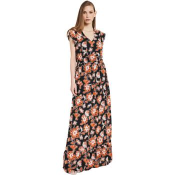 Ruhák Női Hosszú ruhák Gaudi 011BD15020 Fekete