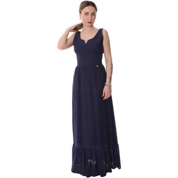 Ruhák Női Hosszú ruhák Fracomina FR20SP588 Kék