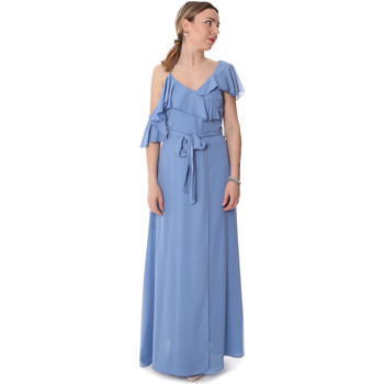 Ruhák Női Hosszú ruhák Fracomina FR20SP031 Kék