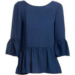 Ruhák Női Blúzok Fracomina FR20SP040 Kék