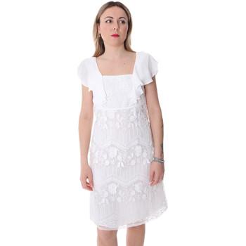Ruhák Női Rövid ruhák Fracomina FR20SP584 Fehér