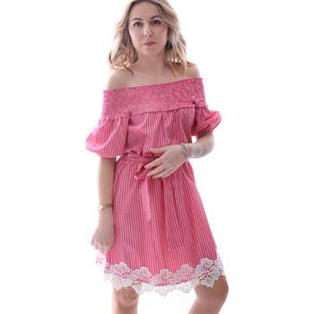 Ruhák Női Rövid ruhák Fracomina FR20SP526 Piros