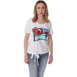 Ruhák Női Rövid ujjú pólók Fracomina FR20SP303 Fehér