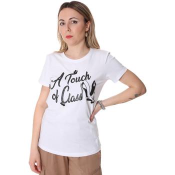 Ruhák Női Rövid ujjú pólók Fracomina FR20SP306 Fehér