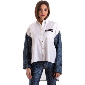 Ruhák Női Ingek / Blúzok Versace B0HVB606S0683904 Fehér