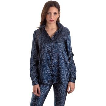 Ruhák Női Ingek / Blúzok Versace B0HVB601S0683904 Kék