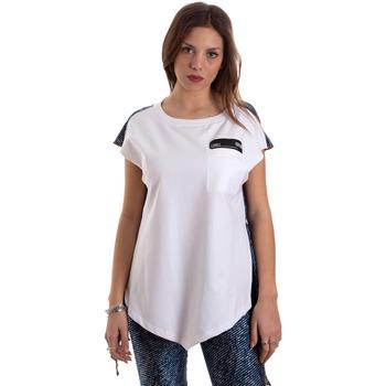 Ruhák Női Rövid ujjú pólók Versace D3HVB657S0683904 Fehér