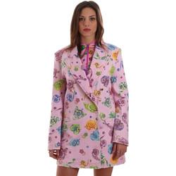 Ruhák Női Kabátok / Blézerek Versace C2HVB507SN75SK69 Rózsaszín