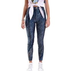 Ruhák Női Legging-ek Versace A1HVB009S0684904 Kék