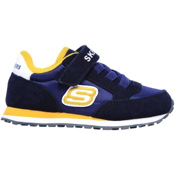 Cipők Gyerek Rövid szárú edzőcipők Skechers 97366N Kék