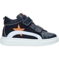 Cipők Gyerek Magas szárú edzőcipők Nero Giardini E023810M Kék