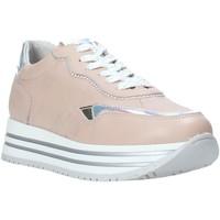 Cipők Lány Rövid szárú edzőcipők Nero Giardini E031470F Rózsaszín