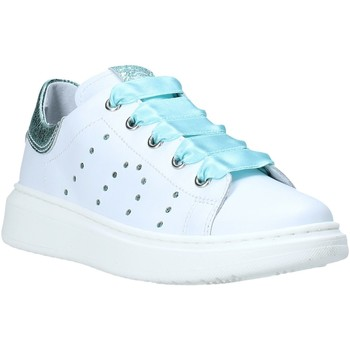 Cipők Gyerek Rövid szárú edzőcipők Nero Giardini E031551F Fehér