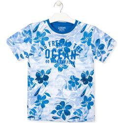 Ruhák Fiú Rövid ujjú pólók Losan 013-1003AL Kék