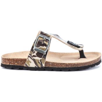 Cipők Lány Lábujjközös papucsok Lumberjack SB78706 003 S46 Zöld