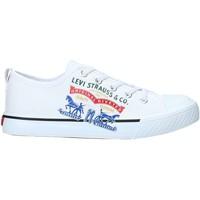 Cipők Gyerek Rövid szárú edzőcipők Levi's VORI0008T Fehér