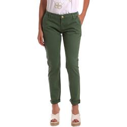 Ruhák Női Chino nadrágok / Carrot nadrágok Gaudi 811BD25009 Zöld