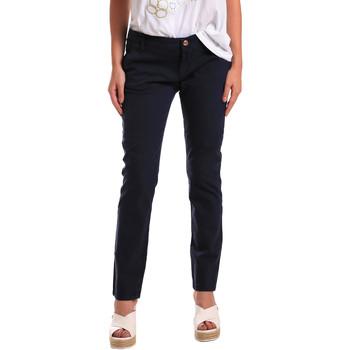 Ruhák Női Chino nadrágok / Carrot nadrágok Gaudi 811BD25009 Kék