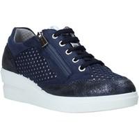 Cipők Női Rövid szárú edzőcipők IgI&CO 5153199 Kék