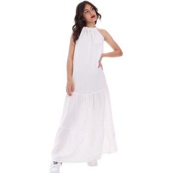 Ruhák Női Hosszú ruhák Gaudi 011FD15073 Fehér
