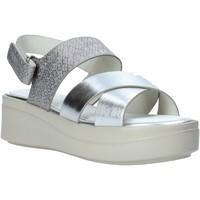 Cipők Női Szandálok / Saruk Impronte IL01548A Ezüst