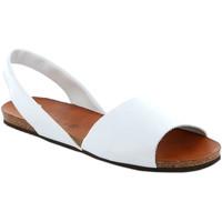 Cipők Női Szandálok / Saruk Grunland SB1623 Fehér