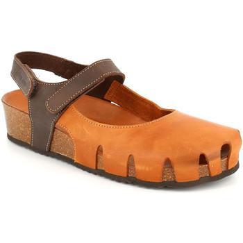 Cipők Női Gyékény talpú cipők Grunland SB1260 Barna