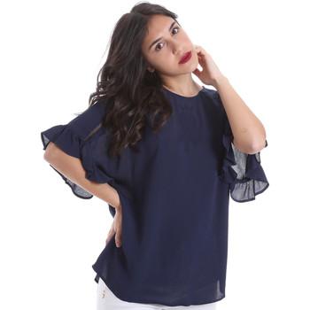 Ruhák Női Blúzok Gaudi 011BD45015 Kék