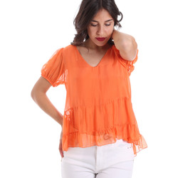 Ruhák Női Blúzok Gaudi 011BD45034 Narancssárga