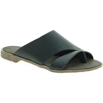 Cipők Női Papucsok 18+ 6120 Fekete