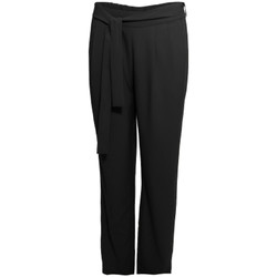 Ruhák Női Lenge nadrágok Smash S1829415 Fekete