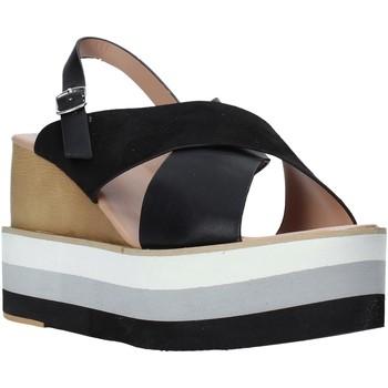 Cipők Női Szandálok / Saruk Onyx S20-SOX758 Fekete