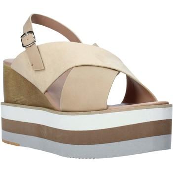 Cipők Női Szandálok / Saruk Onyx S20-SOX758 Bézs