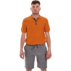 Ruhák Férfi Rövid ujjú galléros pólók Sseinse ME1528SS Narancssárga