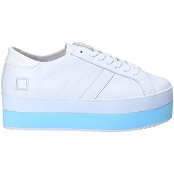Cipők Női Rövid szárú edzőcipők Date W281-MO-LE-WH Fehér