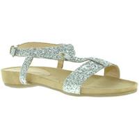 Cipők Női Szandálok / Saruk Mally 4681 Ezüst