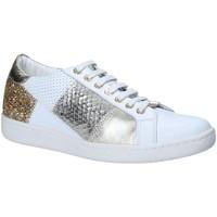 Cipők Női Rövid szárú edzőcipők Keys 5531 Fehér
