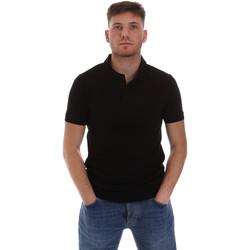 Ruhák Férfi Rövid ujjú galléros pólók Sseinse ME1517SS Fekete