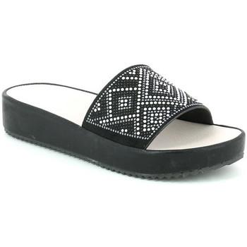 Cipők Női Papucsok Grunland CI1287 Fekete