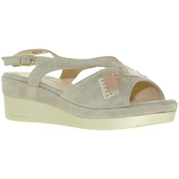 Cipők Női Szandálok / Saruk Melluso R70715 Szürke
