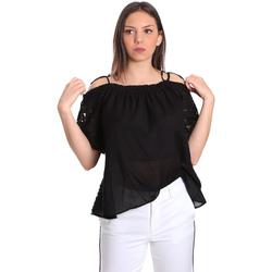 Ruhák Női Blúzok Gaudi 811FD45011 Fekete