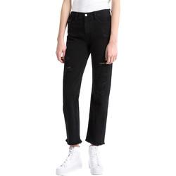 Ruhák Női Boyfriend farmerek Calvin Klein Jeans J20J207108 Fekete