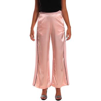 Ruhák Női Lenge nadrágok Y Not? 18PEY001 Rózsaszín