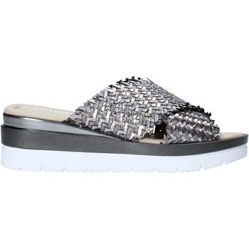 Cipők Női Papucsok Valleverde 32140 Ezüst