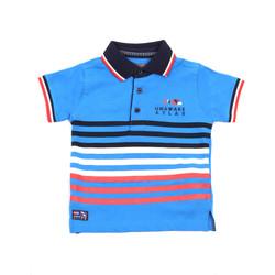 Ruhák Gyerek Rövid ujjú galléros pólók Losan 015-1037AL Kék