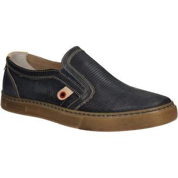 Cipők Férfi Belebújós cipők Café Noir QT121 Kék