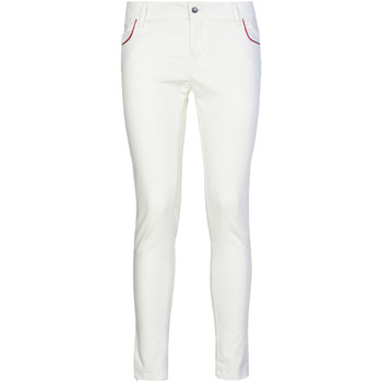 Ruhák Női Chino nadrágok / Carrot nadrágok Café Noir JP235 Fehér
