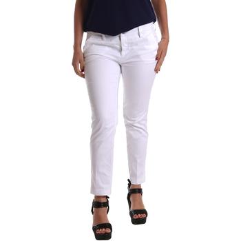 Ruhák Női Chino nadrágok / Carrot nadrágok Café Noir JP236 Fehér