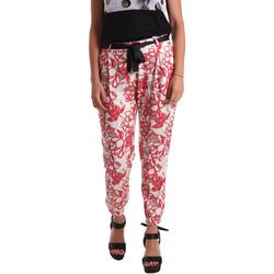 Ruhák Női Chino nadrágok / Carrot nadrágok Café Noir JP244 Piros