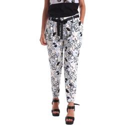 Ruhák Női Chino nadrágok / Carrot nadrágok Café Noir JP244 Fekete